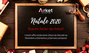 Chiusura festività Natale 2020