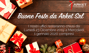 Chiusura uffici Arket Natale 2019